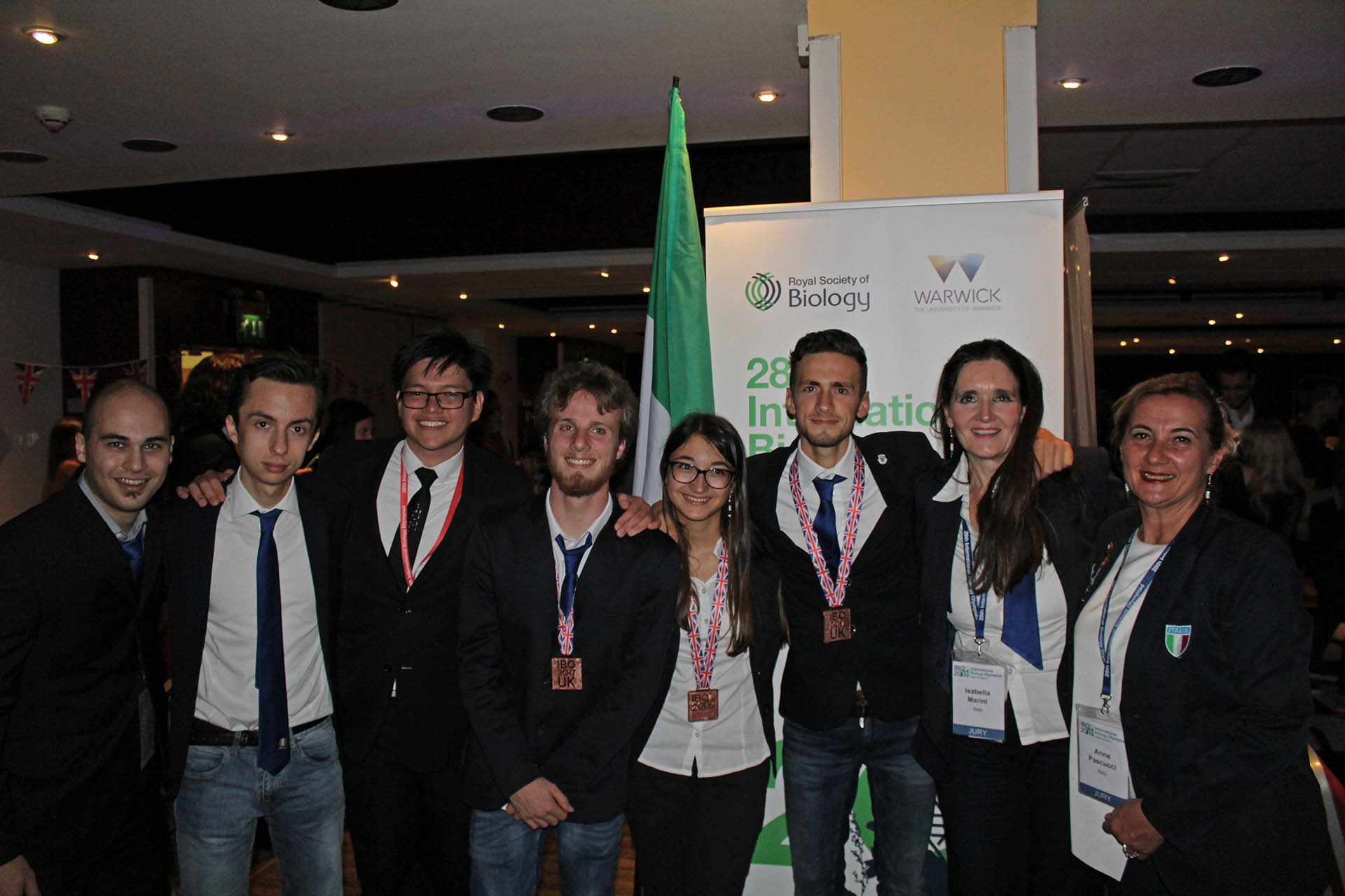 L'Italia alle IBO 2017